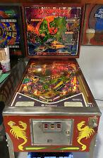 Scorpion Pinball Machine Williams Coin Op Arcade 1980 Free Shipping