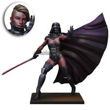 75MM 1:24 Resin Star Wars Girl Figure Model Female Warrior Garage Kit Unpainted
