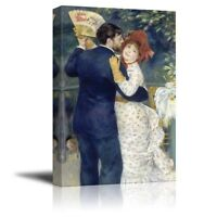 Wall26 - Country Dance by Pierre Auguste Renoir - Canvas Print Wall Art- 16 x 24