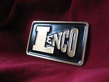 Lenco L75 / L70 turntable brass logo badge