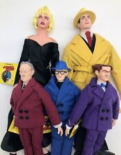Dick Tracy Dolls Set of 5: Dick Tracy 14� Breathless 14� Applause 1990