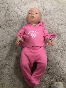 RealCare Baby II Plus Doll Female Caucasian Girl RealityWorks  Accessories