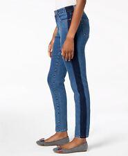 Charter Club Womens Medium Wash Side Stripe SKINNY Ankle Jeans Size 10