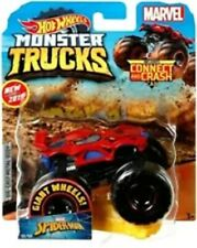 NEW HOT WHEELS MONSTER TRUCKS 1/64 SCALE MARVEL SPIDER-MAN #36
