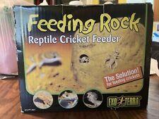 Exo-Terra Feeding Rock Reptile Cricket Feeder