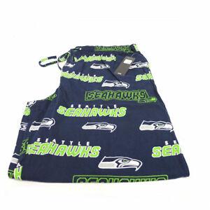 NFL Men's Seattle Seahawks Slide Lounge Pajama Pants - 2XL