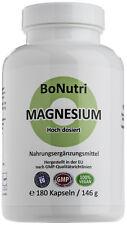 Magnesiumcitrat 400 mg Magnesium Tagesdosis 180 vegane Kapseln 3-Monatsbedarf