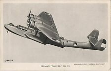 POSTCARD  AVIATION    DORNIER  DO  24