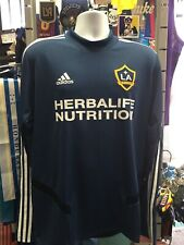 Adidas LA Galaxy Training Top Navy White L/S 20/21 Size L Men's Only