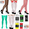 Ladies Men's Tights Elf Xmas Stockings Halloween Fancy Dress Costume Accessory