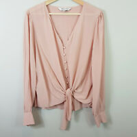 FOREVER NEW | Womens Blouse / shirt w/ tie detail [ Size AU 12 or US 8 ]