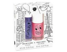 NAILMATIC KIDS Lovely City - Rollette Nail Polish Duo Set NEW