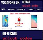 Samsung Galaxy S10 Unlock Code Vodafone UK network only Fast