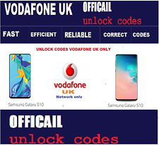 Samsung Galaxy S10 Unlock Code Vodafone UK network only Fast