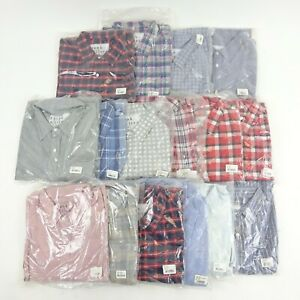 FRANK & EILEEN Wholesale Lot of 80 Mens XXL Button Down Shirts All NEW