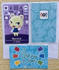 NEW UNSCANNED Animal Crossing Amiibo Card #264 Marshal New Leaf New Horizons NFC