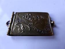 PARIS Art Nouveau carnet de bal argento oro ciondolo ALBUM SOUVENIR Photo 900