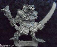 1987 Skaven C47 clanrat con CLUB E SPADA caos ratmen Citadel Warlord EROE GW
