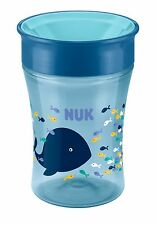 NUK Magic Cup 230ml mit Trinkrand Trinklernbecher Wal 8m