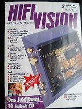 HIFI VISION 3/93, AVM EVOLUTION a1, Symphonic line, Graham! .5t, Trans rotore AC +