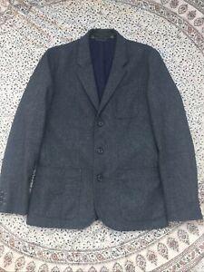 "CREW CLOTHING - Grey Melange - Wool Blend - Smart Casual - Jacket  - L - 40"""