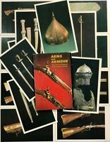 Vintage Postcards set 16 pcs Rare weapon Kremlin Museum Russia Moscow 80s