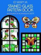 vitrail motif Livre par JR Ed Sibbett 9780486233604 (livre de poche, 1976)
