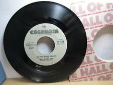 Old 45 RPM Record - Columbia 13-02166 - Willie Nelson - On the Road Again / Sept
