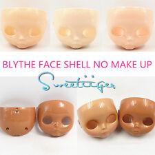 """Takara 12"""" Neo Blythe RBL FACE SHELL no make up Factory Nude doll Custom parts"""