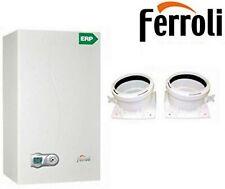 Caldaia condensazione Ferroli DIVACONDENS-D F28 KW + KIT FUMI