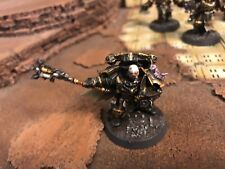 Warhammer 40,000 Chaos Space Marines Exalted Champion Well Painted Black Legion