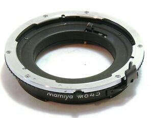 Mamiya Auto Extension Ring No. 1 for 645 Super Pro TL M645 EXC+ #50774