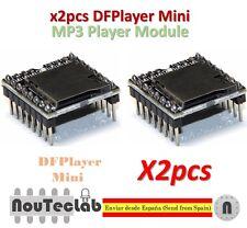 2pcs DFPlayer Mini MP3 Player Module MP3 Voice Module TF Card and USB Disk