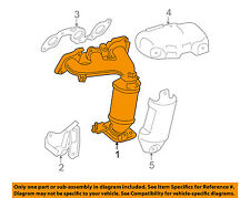 TOYOTA OEM-Exhaust Manifold 1714020080