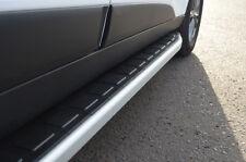 Aluminium Side Steps Bars Running Boards To Fit Hyundai Santa Fe I (2000-06)