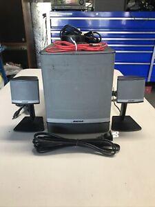 Bose Companion 3 Series II Multimedia Computer Speaker System