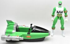 Power Rangers Lost Galaxy Green Jet Jammer With Green Ranger Loose Bandai 1998