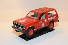 POLISTIL NISSAN PATROL FIRE EMERGENCY 533 RED EXCELLENT CONDITION