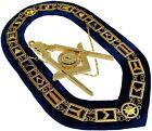 Blue Lodge Working Tool Golden Collar Chain + Senior Deacon Pendant DMR-400GB+SD