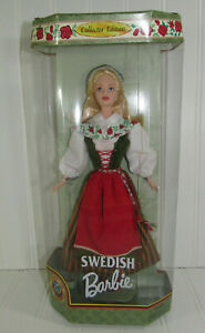1994 Swedish Collector Edition Barbie Doll's of the World 24672 DOTW NRFB
