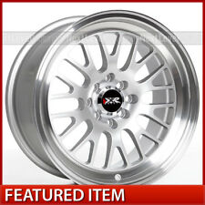 XXR 531 16x8 4-100/4-114.3 +20 Hyper Silver Wheels (Set of 4)