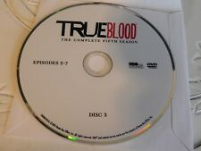 True Blood Fifth Season 5 Disc 3 Replacement DVD Disc Only 63-264