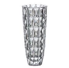 "Crystal Glass  Vase 12,5 "" Centerpiece Flower Clear Color Bohemian Crystal Vase"