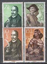SAHARA edifil # 156/159 ** Lope de Vega / writers