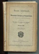 #58969 M. Bauer, E. Koken, Th. Liebisch (herausgegeben von), Neues Jahrbuch für