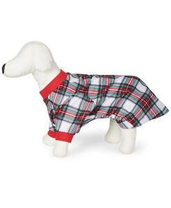 Family Pajamas Matching Pet Stewart Plaid Size Medium NWT