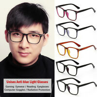 Eyeglasses Radiation Protection Gaming Computer Goggles Anti-blue Light Glasses