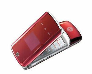 Motorola KRZR K1 Original Unlocked Flip Cellphone GSM 2MP Camera Bluetooth
