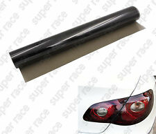 "Useful 16""X 48"" MEDIUM SHADE SMOKE TAILLIGHT OR HEADLIGHT PVC FILM COVER OVERLAY"