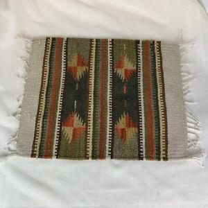 Native American Southwestern Style Wool Rug '15 X '19